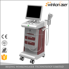 Beauty machine 15 inch touch screen 5 probes stubborn fat killer hifu wrinkle removal facial hifu lifting