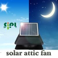 Solar vent fan system roof mounted exhaust fan rechargeable battery powered exhaust fan kit