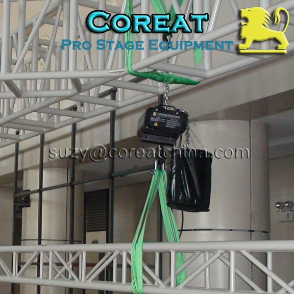 25 Meter Chain CE Certified Small Truss Motor Hoist
