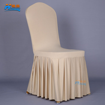 wedding and christmas used spandex chair cover with stretch fabric