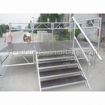 18mm plywood waterproof anti-slip simple stage from Guangzhou