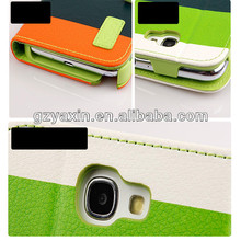 Credit Card Slot Wallet Leather Case For Samsung,Sublimation Phone Cover For Samsung Note2,Pu Accessory Fashion Cover