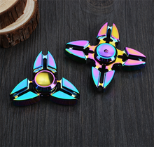 Hot Sale EDC Anti-stress Relax Game Spinner Toys, Metal Aluminium Alloy Finger Spinner