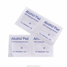 Non-woven Sterile Pad 70% Isopropyl Alcohol Prep Pad Alcohol Clean Wipe