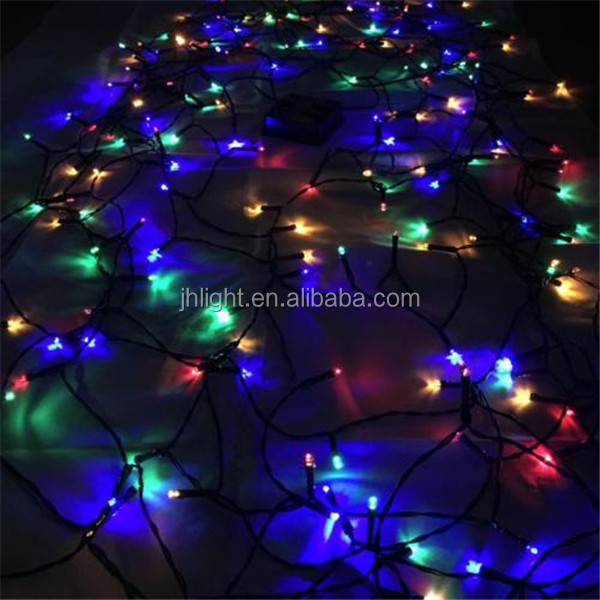 Multi colored Solar Power Led Christmas Light String 100 Leds Waterproof Outdoor Garden Christmas Decoration String light