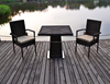 rattan garden table and chairs patio table with chairs set