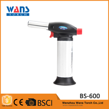 Outdoor portable BS-600 plastic electronic barbecue welding heating butane white gas lighter