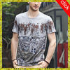 wholesale hot sale sublimation printed short sleeve round neck man t shirt, casual 3d t shirt designs for boys