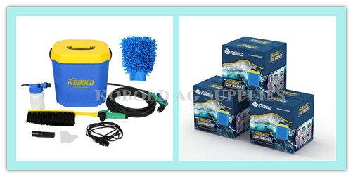 kobold lectrique portable laveur de voiture 12 v outil de nettoyage de voiture batterie. Black Bedroom Furniture Sets. Home Design Ideas