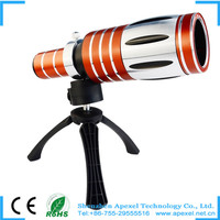 Newest! 50xOptical Zoom Telescope Telephoto Camera Lens +Plastic Tripod + Back Case for Samsung Galaxy S4/ I9500