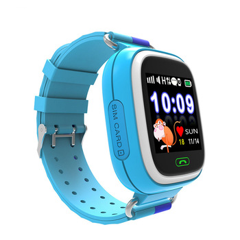 2018 sos wrist watch gps tracking <strong>device</strong> for kids Touch screen children gps tracker bracelet watch