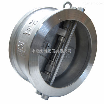 H76X-16P Butt-Welding Butterfly Type Check Valve