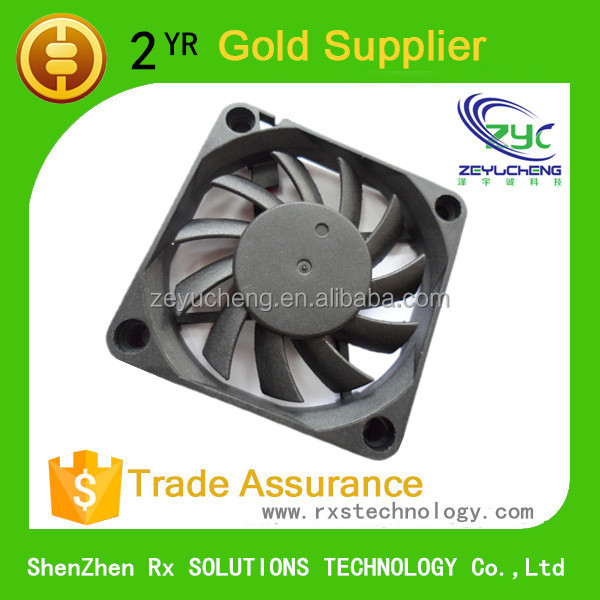 DC 6010 bladeless cooling fan 60*60*10mm for sever cpu cooling