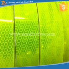 3m Fluorescent Yellow Reflexite Sheeting,High Visibility Sheet Roll Reflective Vinyl Material,Diamond Grade PET Micro Prismatic