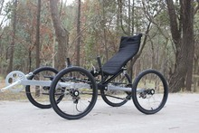 Factory price hot selling passenger seat recumbent bicycle