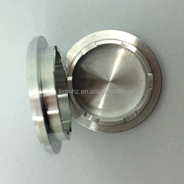 Milling CNC machining center parts titanium box cosmetic box
