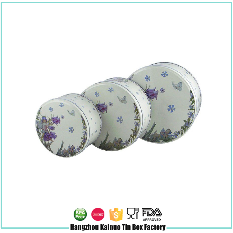 China Supplier Cosmetic Custom Printed Wholesale Box Tin Containers