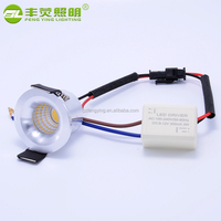 Led mini small spotlight cob 3w/5w/7w led spotlight price