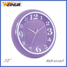 Purple new style gift travel hotel clocks