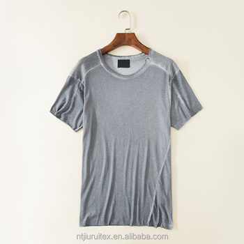 mens cotton dirty stone washed t-shirts