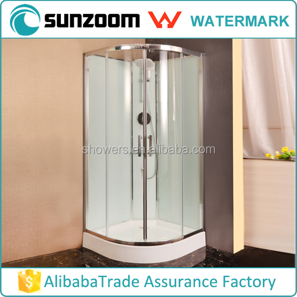 Australia market watermark pas mark glass shower stall