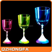 fantastic promotional glow plastic cup beer ,High luminous cup liquid activated led champagne cup