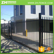 Corrosion Proof Tubular Zinc-Coated Steel Fence,Wrought Iron Fence