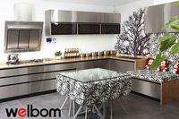 2016 Welbom Wooden Apartment Kitchen Cabinets Online