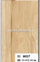 Ralav best price vinyl plank recycled wood pvc click flooring