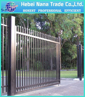 Galavanized Steel Gate small iron gate / outdoor steel gate with lowest price