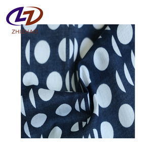 Alibaba China cotton Custom Textile Printed Fabric For Shirts