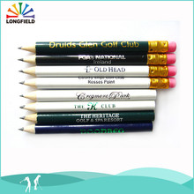 lastest promotion imprint color oem golf tee pencil in Alibaba