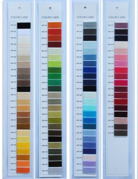 Simthread polyester shade card for embroidery thread,mercerized cotton thread chart