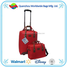 2015 autumn canton fair BSCI audit Quanzhou supplier lady trolley travel bag ,luggage travel bags ,lady luggage