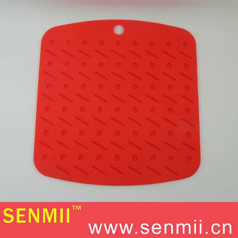 SM-SP-008 Silicone hot pad/table mat/anti-slip pad/cup pad/hot holders