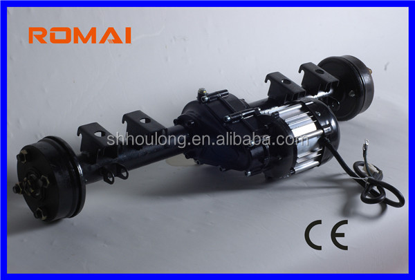 Romai electric rickshaw spare parts 48v 800W dc brushless motor/ dynamo for electric rickshaw