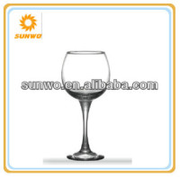 large clear white wine glass,drinking glassware