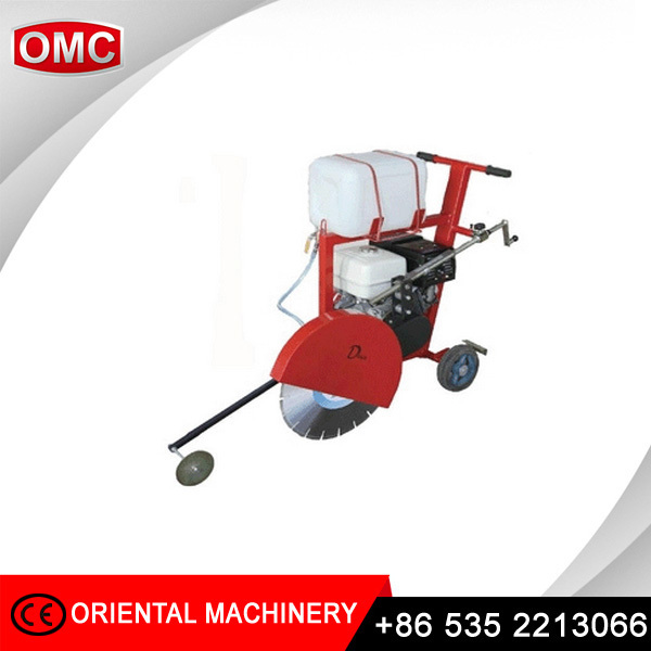 Portable concrete road cutter with HONDA petrol engine