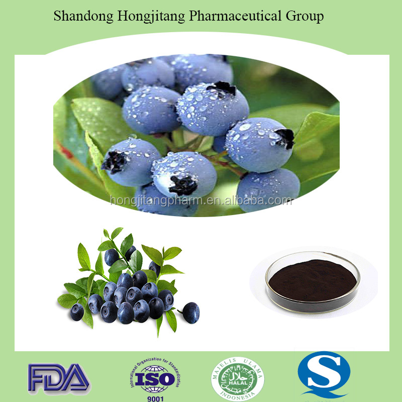 Hot-Sale high quality Bilberry,Cranberry,Blueberry Extract Powder Anthocyanidins 25%