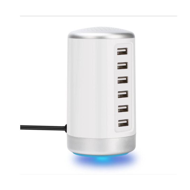 2019EU US UK AU Standard USB Multi-port Chargeur 30 W 6 Ports USB Haute Vitesse Station De Charge pour Plusieurs appareils USB Chargeur Mural - ANKUX Tech Co., Ltd