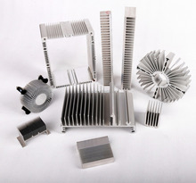 best selling product china manufacturer powder coated extrusion heatsinks / quality computer aluminum radiator