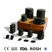 Hot stone 54Pcs Deluxe Warm Stone Massage Set/hot stone massage