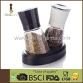 BSCI/BRC Audit Factory 2pcs set 6OZ 170ml Food Grade Glass Sea Salt Grinder