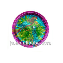 elegant beautiful paper plates/Laser paper plate/bird paper plates