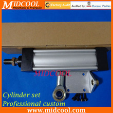 Pneumatic Cylinder set Professional custom Parker cylinder with all kind of connector Magnetic switch bracket