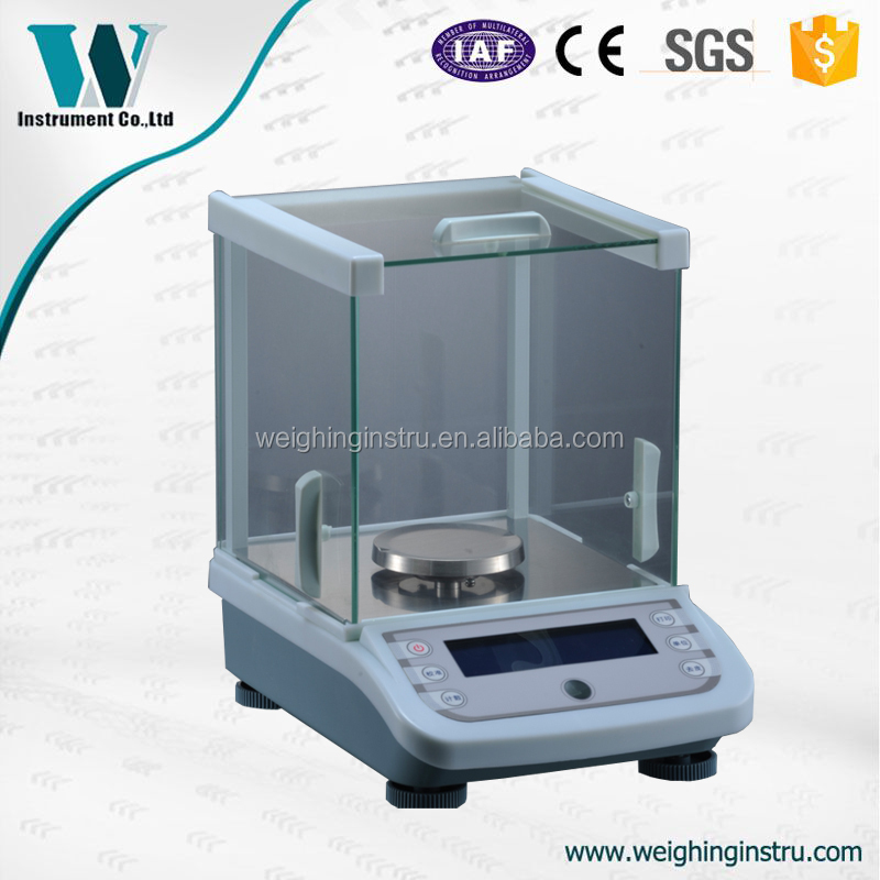 0.001g Bigger LCD Full Range Tare table top scale electronic balance price