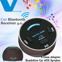 VOXLINK Bluetooth 4.0 Music Receiver 3.5mm Adapter Handsfree Car AUX Speaker for Iphone