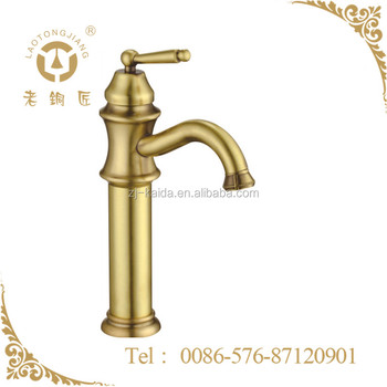 Chinese supplier Household Antique Bronze Kitchen Faucet Tap