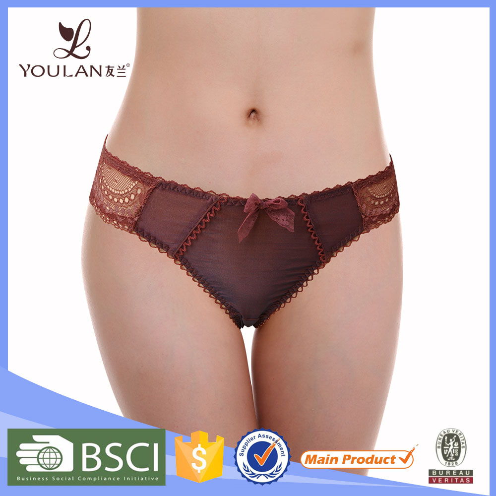 Hot Sales High Quality Open Lady Panty Women Sexy Indian Underwear