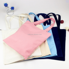 High Quality Customized Canvas Diaper Tote Bag with Zipper
